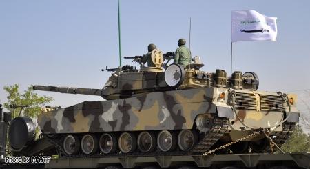 Zulfiqar-3 Tank at Parade