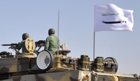 Zulfiqar Flag on Tank