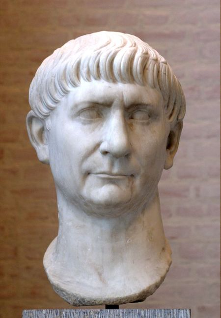 Trajan, 13th Emperor of Rome, 98-117 AD