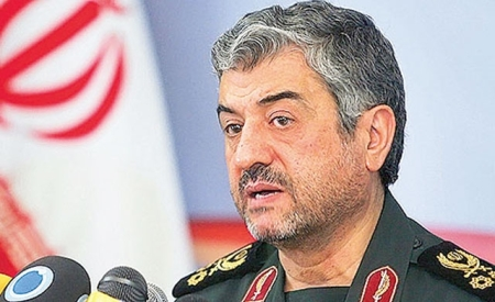 Major General Ali Jafari, Commander of the entire Iranian Revolutionary Guard Corps (IRGC)