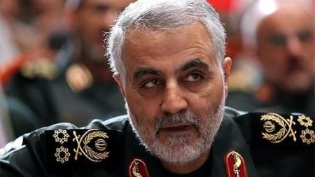 Major General Qassem Soleimani, Commander of the Quds Force branch of the IRGC.