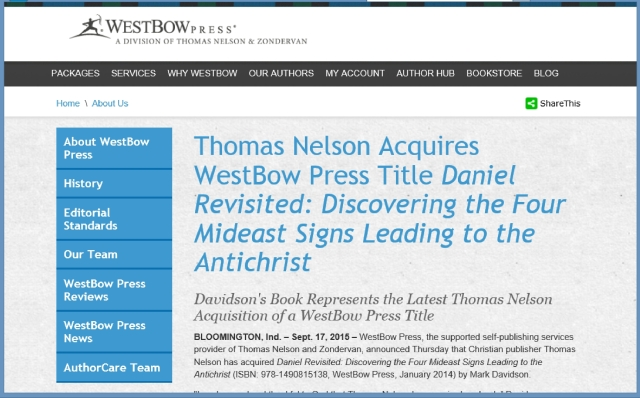 Thomas Nelson acquires Daniel Revisited.