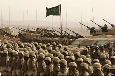 A recent photo op of Saudi ground forces.