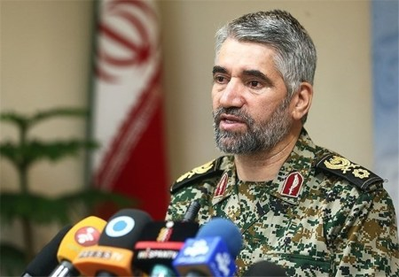BG Ali Fazli, deputy commander of the Basij.