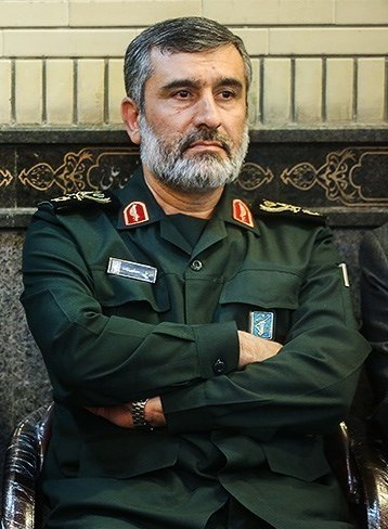 BG Amir Ali Hajizadeh, commander of the IRGC Aerospace Force. One could say he is the Iranian rocketman.