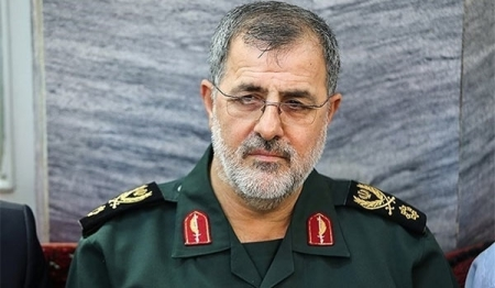 BG Mohammad Pakpour, the commander of the Ground Forces branch of the IRGC, i.e. the IRGC army.