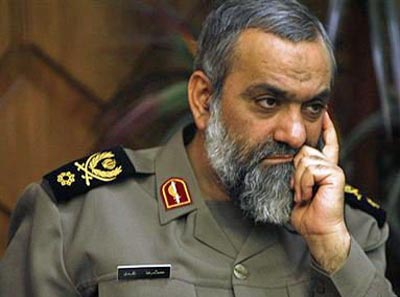 BG Mohammad Reza Naghdi, commander of the Basij.