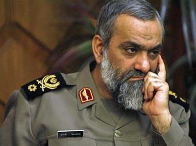 BG Mohammad Reza Naghdi, commander of the Basij.