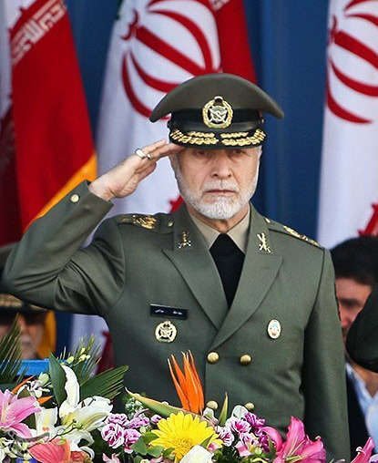 MG Ataollah Salehi, commander of the Artesh, the regular military.