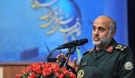 MG Gholam Rashid who commands IRGC Headquarters.