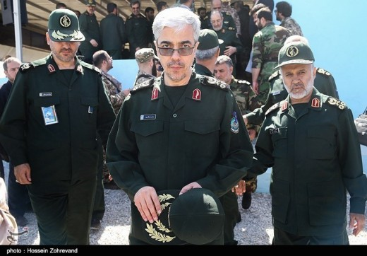 MG Mohammad Bagheri the chief of staff of all the Iranian military.