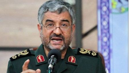 Major General Mohammad Ali Ja'fari, the top commander of the IRGC.
