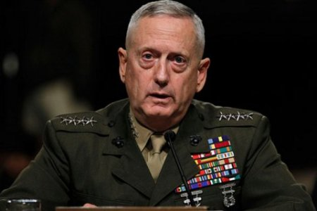 "Former Marine General Jim ""Mad Dog"" Mattis."