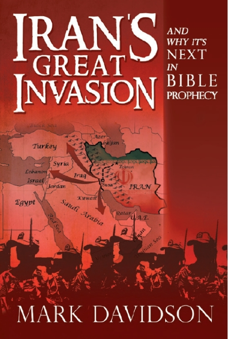 The front cover of Iran's Great Invasion.