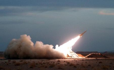 A launch in 2012 of a surface to air missile similar to the one Iran just launched.