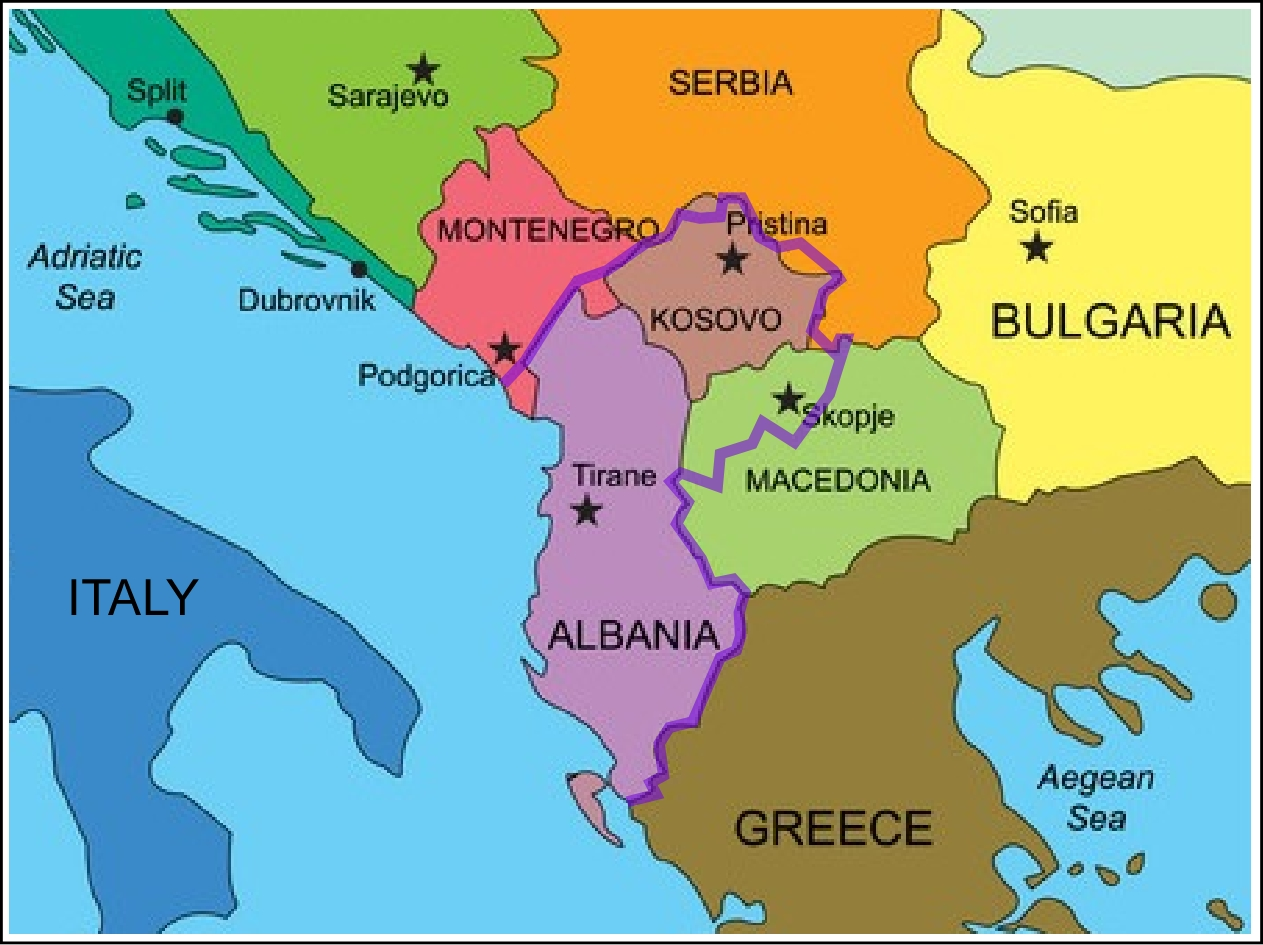 Balkan Peninsula | THE FOUR SIGNPOSTS